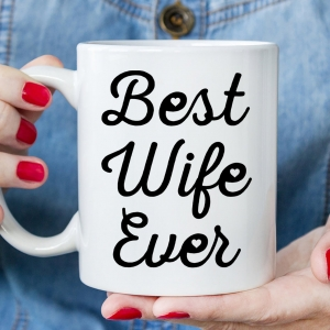 Romantic Gift For Wife Personalized Coffee Mug